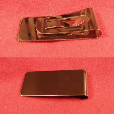 Stainless Steel Money Clip - Small